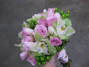 green and pink wedding bouquets pink and green bridal bouquet archives stadium flowers