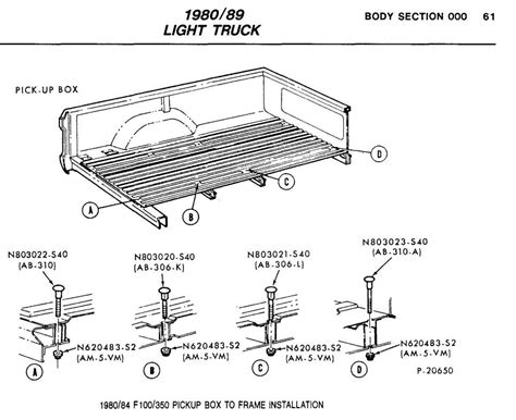 ford ranger bed dimensions bed bolts ford truck enthusiasts forums