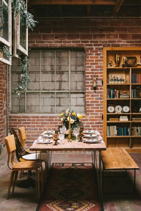 Boho Meets Industrial Wedding Inspiration   Weddingomania
