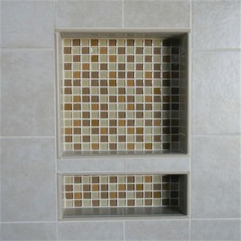 Bathroom Tile Nooks Shower Nook Tile Idea For The Home