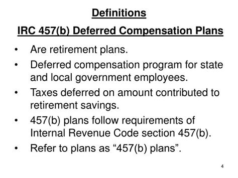internal revenue code section 403 a ppt deferring accumulated sick and vacation pay
