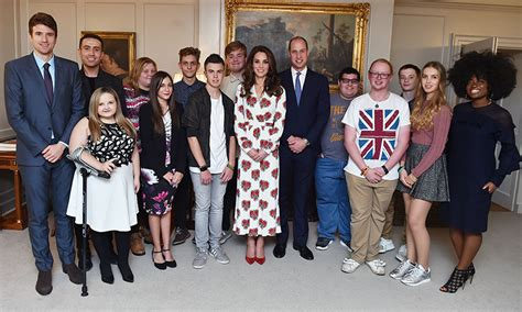 kensington palace william and kate prince william and kate middleton invite teen heroes to