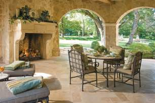 outdoor living room with fireplace homeowners help title talk by fnta phoenix
