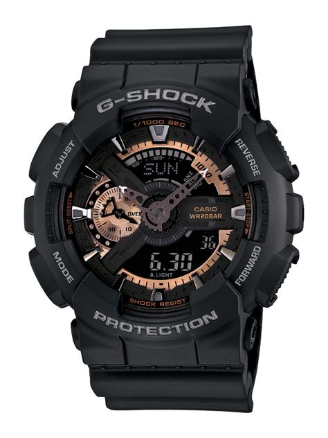 casio s ga110rg 1a g shock black
