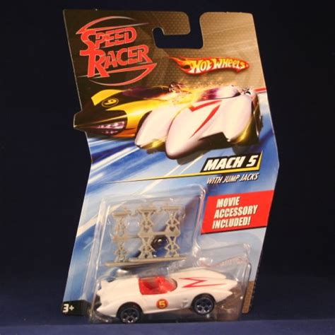 film hot wheels mach 5 race car with jump jacks hot wheels speed racer 1