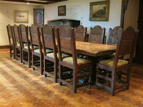 best of medieval style dining room table light of dining lancashire oak chairs