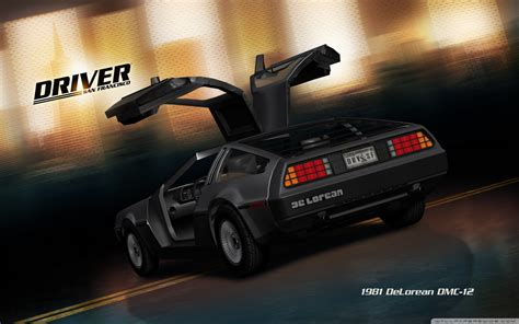 driver san francisco delorean dmc  hd desktop