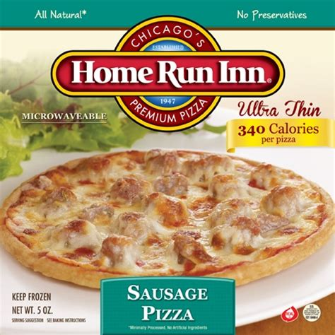home run inn s ultra thin sausage personal size pizza is