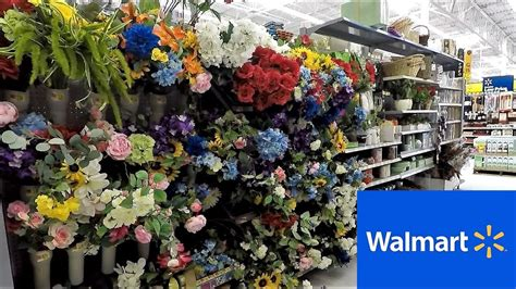 walmart floral flowers spring summer home decor shop   shopping store walk