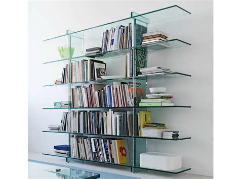 librerie vetro libreria dany con libreria in vetro e libreria moderna in