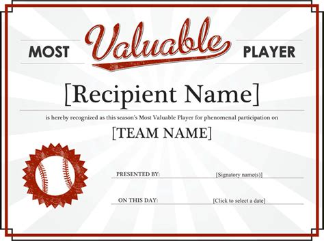 award certificate templates template free download
