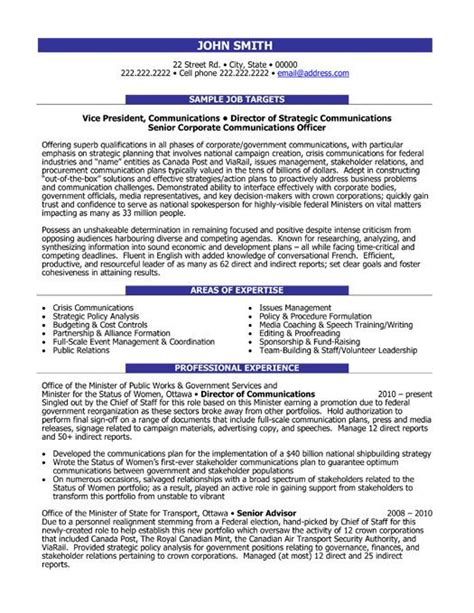 relations resume template 7 best relations pr resume templates sles