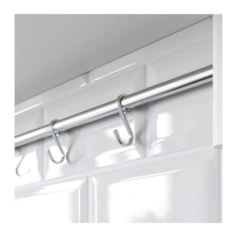 ikea wall hooks v 196 rde wall shelf with 5 hooks white 140x50 cm ikea