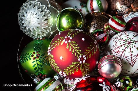 next home christmas decorations christmas decorations for home and tree crate and barrel