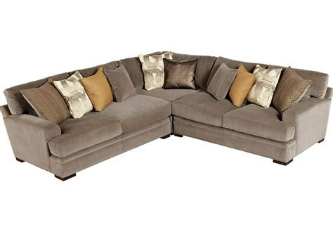 cindy crawford fontaine sofa picture of cindy crawford home fontaine 3 pc sectional