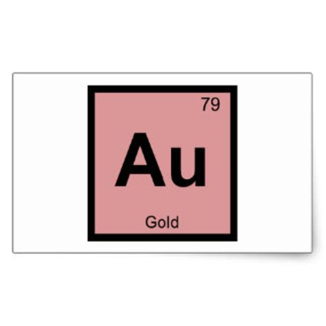 Periodic Table Gold by 288 Gold Period Stickers And Gold Period Sticker Designs