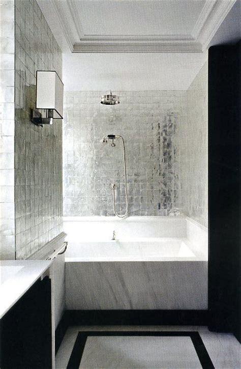 shiny grey bathroom tiles ideas  pictures
