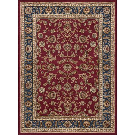 Tayse Rugs Sensation Red 7 Ft 10 In X 10 Ft 6 In 7 X 10 Area Rugs