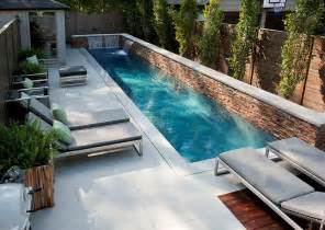 Pool Ideas For Small Backyards by Modern Backyard Design Small Backyard Swimming Pool Lounge