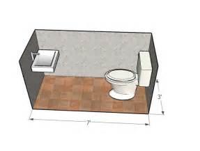 smallest of the small half bath design dimensions half