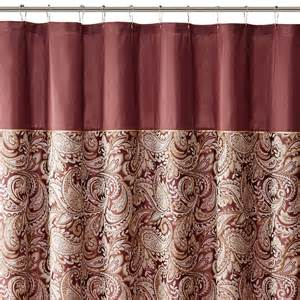 park polyester jacquard shower curtain ebay