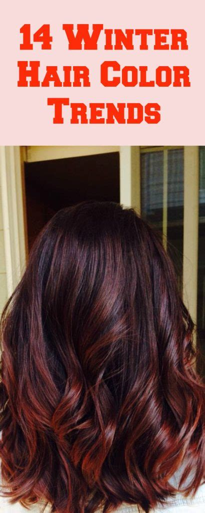 14 best winter hair colors for 2017 top fall and winter 14 winter hair color trends to try this year