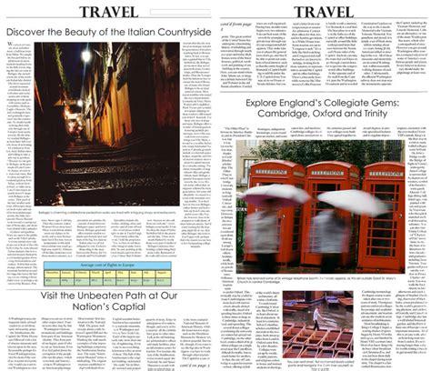 newspaper layout exercises broadsheet exercise
