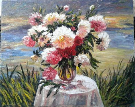 Jual Bunga Murah lukisan gallery