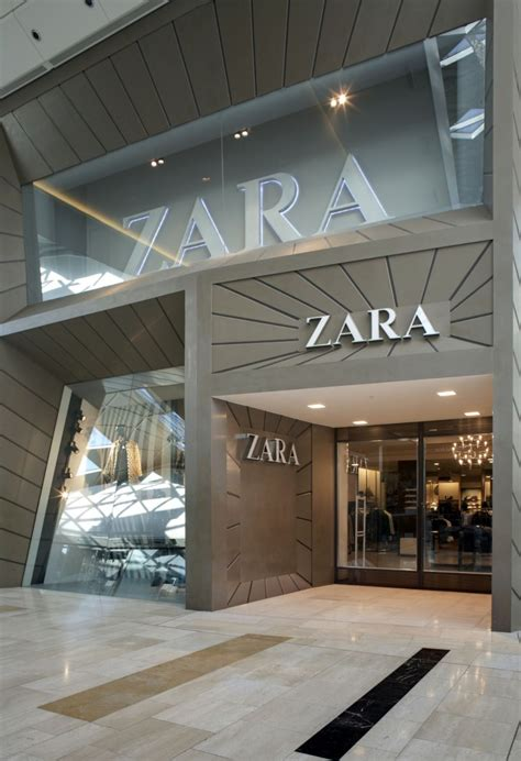 Garden State Mall Zara Zara Introduces A New Edge To Mall Architecture Psfk