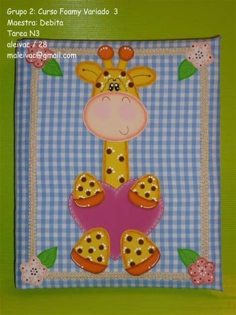 imagenes de jirafas en goma eva arte country en goma eva carpeta forrada con jirafita