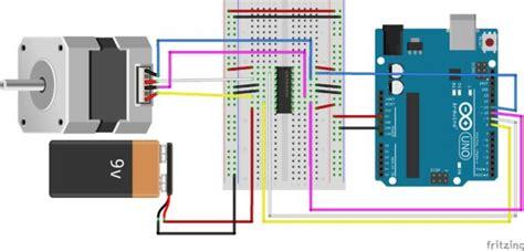 bd139 transistor nedir controlling a stepper motor with an arduino