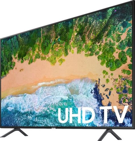 Samsung 55nu7100 Samsung 2 1 Channel Soundbar System With 7 Quot Wireless Subwoofer Black Hw M450 Za Best Buy