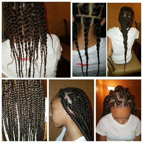 hair braid maid with rubberbands and the hair looks springy the 25 best rubber band box braids ideas on pinterest