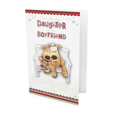 boofle daughter boyfriend christmas card