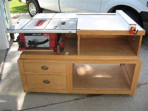 build a table saw bench table saw extension by andrew betschman lumberjocks