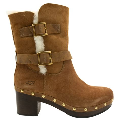 ugg womans boots buy ugg 174 womens chestnut boots at hurleys