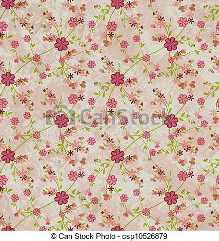grunge paper floral background stock illustration illustration 19511049 flowers pattern paper grunge vintage background