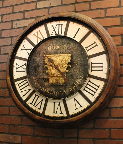 Vintage Wall Clock large vintage wall clocks for sale