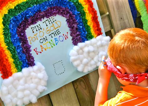 themes party games the torrents times rainbow party ideas