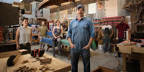 Small Entertainment Cabinet Nick Offerman Wood Shop Gifts Askmen