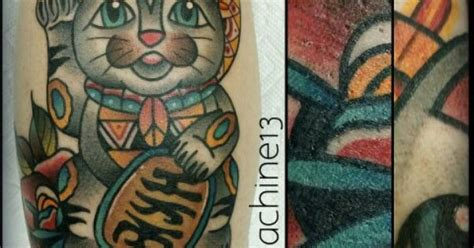 tattoo japanese los angeles traditional japanese lucky cat tattoo by zack taylor at