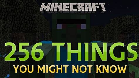 7 Things You Might Not Know About Minecraft Minecraft Blog - 256 tricks facts glitches you might not know in