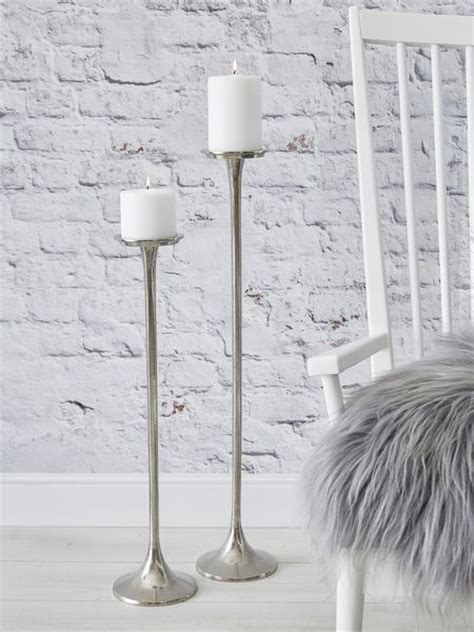 Floor Candle Holder by Cast Aluminium Floor Candle Holders