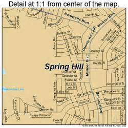 hill florida map 1268350