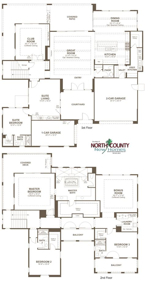 summit homes floor plans the summit at san elijo hills floor plans north county