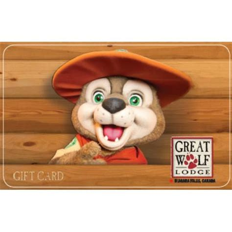 Great Wolf Lodge Gift Card - great wolf lodge gift certificate lamoureph blog