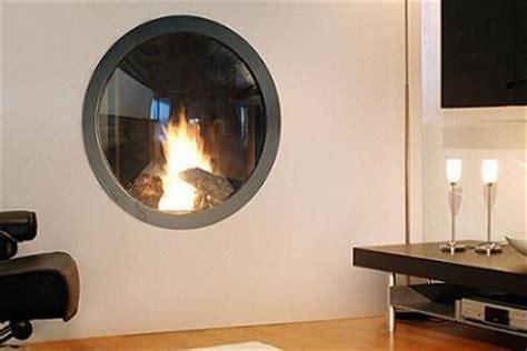 chimenea circular chimenea de dise 241 o circular que parece una ventana