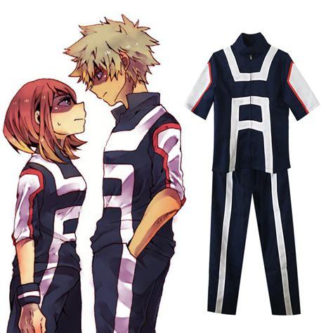 Kaos Anime Boku No Academia Izuku Midoriya Shirt Kc Bha 03 my academia ochaco uraraka midoriya izuku bakugou midoriya iida school sportswear
