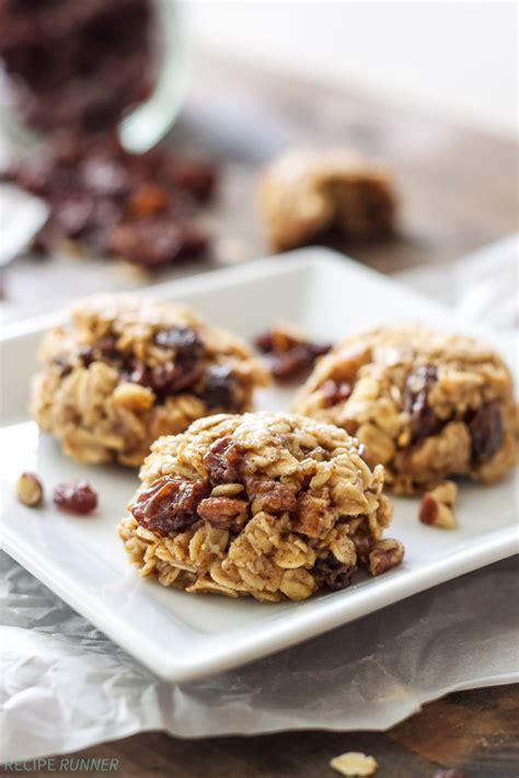 Do You Like Raisins In Your Cookies by Healthy No Bake Oatmeal Raisin Cookies Recipe Runner