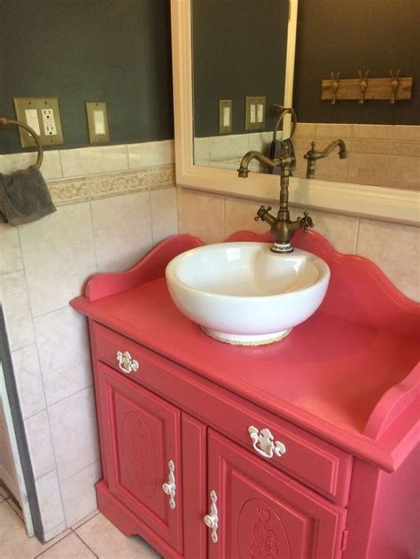 repurposed bathroom cabinet repurposed old dry sink turned bathroom vanity hometalk